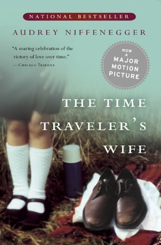 Book cover for The Time Traveler's Wife