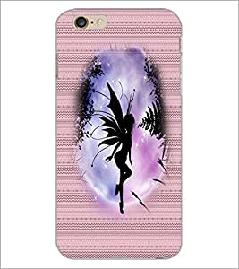 PrintDhaba Angel D-3549 Back Case Cover for APPLE IPHONE 6S PLUS (Multi-Coloured)