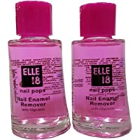 Elle 18 Nail Pops Enamel Remover (30ml) - Pack of 2