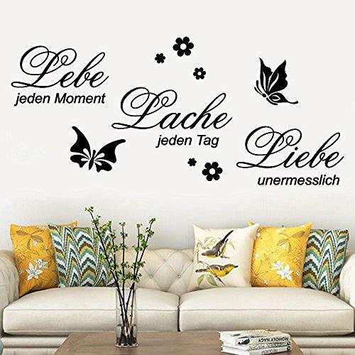 ache Liebe Familie Abnehmbare Art Vinyl Wandbild Home Room Decor Wandaufkleber Hausgarten Küche Zubehör dekorative Aufkleber Wandbilder ()