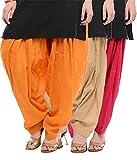 Pistaa Orange, Beige And Rani Pink Pure ...