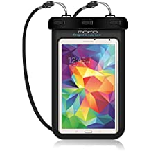 MoKo Funda Impermeable - Universal Waterproof Para iPad Mini 4 3 2 1/ Nexus 7/ G Pad 7.0/ 8.0/ 8.3/ Venue 7.0/ 8.0/ 8.0 Pro, Lenovo Tab A7 y Tableta 8.4 Pulgadas - IPX8 Certificado, NEGRO