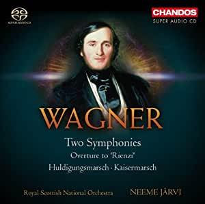 Wagner: Two Symphonies (Orchestral Works Vol 5) (Chandos: CHSA 5097)