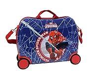 Bellissima la Nuova Valigia rigida trolley Cavalcabile con Spiderman pronto ad una nuova missione, e voi siete pronti ad attivare i vostri sensi di Ragno? Dotata di 4 ruote robuste e cinghia per essere trainata agevolmente anche dai bambini. ...
