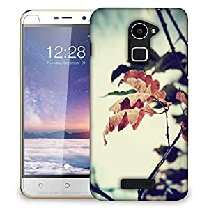 Snoogg Dry Leaves On Tree Designer Protective Phone Back Case Cover for Coolpad Note 3 Lite