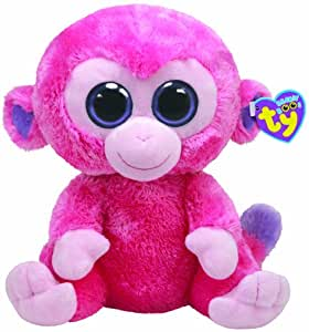 TY 7136909 - Affe pink Razberry Buddy, Beanie Boos, 21,5 cm