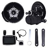 HUKOER Drehmoment Sensing Center Motor brushless Getriebe Mid-Drive Motor ebike umwandlungs-Kits 36v 350w
