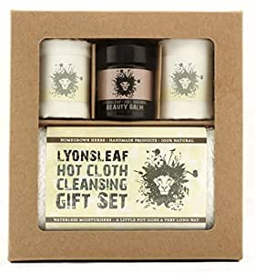 Lyonsleaf Hot Cloth Cleanser Gift Set (cleansing balm, oil cleansing method, natural beauty gift set)