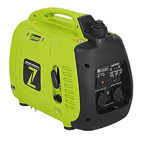 Stromerzeuger, Generator, Stromaggregat, Inverter-Technologie 2000 W, 2,5 L