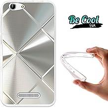 Becool® Fun - Funda Gel Flexible para Cubot Note S - Dinosaur, Carcasa TPU fabricada con la mejor Silicona, protege y se adapta a la perfección a tu Smartphone y con nuestro exclusivo diseño. Metal brillante