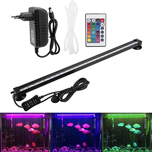 Zerodis LED Aquarium Light Sommergibile Wasserbad Bubble Light mit Fernbedienung Subacqueo LED Farbig für Aquarium Kit Aquarium