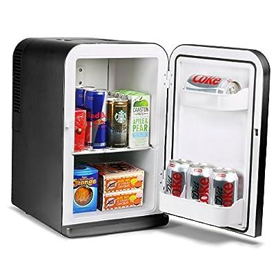 15 Litre Mini Fridge Cooler and Warmer Black by bar@drinkstuff