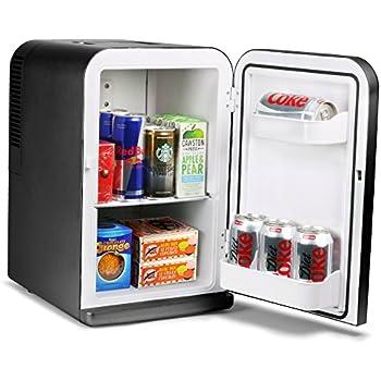 15 litre mini fridge cooler and warmer black large appliances. Black Bedroom Furniture Sets. Home Design Ideas