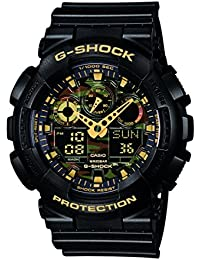 Casio G-Shock – Herren-Armbanduhr mit Analog/Digital-Display und Resin-Armband – GA-100CF-1A9ER