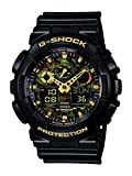 Casio G-Shock – Men's Analogue/Digital Watch with Resin Strap – GA-100CF-1A9ER