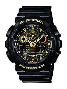 Casio Men's G-Shock Analogue/Digital Quartz Watch with Resin Strap GA-100CF-1A9ER