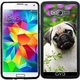 Funda de silicona para Samsung Galaxy Grand Prime (SM-G530) - Cervatillo Lindo Cachorro De Pug by Katho Menden