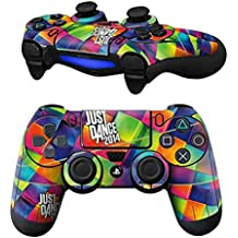 Elton PS4 Controller Designer 3M Skin For Sony PlayStation 4 DualShock Wireless Controller - Dance Blocks Multi Color, Skin For One Controller Only