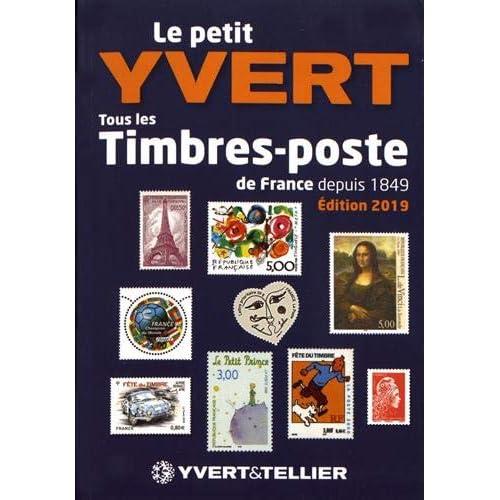 Le Petit Yvert : Tous les timbres-poste de France depuis 1849
