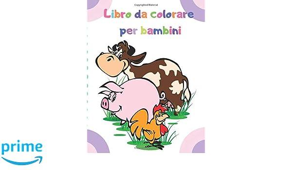 Libro Da Colorare Per Bambini Disegni Da Colorare Per Bambini