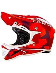 O'Neal Warp Fidlock Edgy Casco de Bicicleta, Rojo (Camo Red), L (59-60 cm)