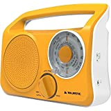 Majestic RT189Radio design vintage orange Portable Prise casque