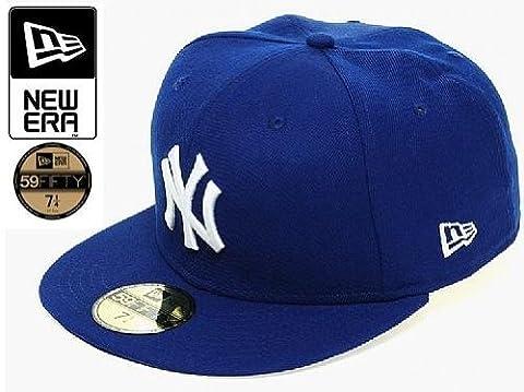 New Era 10002059 NEW YORK YANKEES Chapeau pour Homme, Bleu Marine ,7 1/2