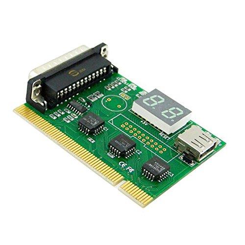 USB-LPT PCI Motherboard Diagnoseanalysator-Test-Postkarte Parallel für Laptop PC EP-032
