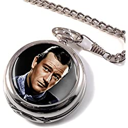 John Wayne Full Hunter Pocket Watch