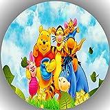 Premium Esspapier Tortenaufleger Geburtstag Winnie Pooh T37