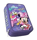 Astuccio Triplo Topolina - Minnie & Daisy