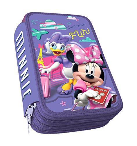Astro Minnie – Plumier con 3 cremalleras, 3D