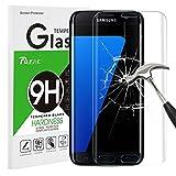 Galaxy S7 Edge Panzerglas Schutzfolie, Rusee 9H Härtegrad 3D HD Ultra Klar Anti-Kratzer Panzerglasfolie Hartglas Gehärtetem Glas Displayschutzfolie Displayschutz für Samsung Galaxy S7 Edge