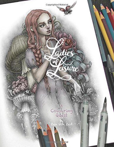 Ladies of Leisure: Color in all the ladies! (coloring the things)