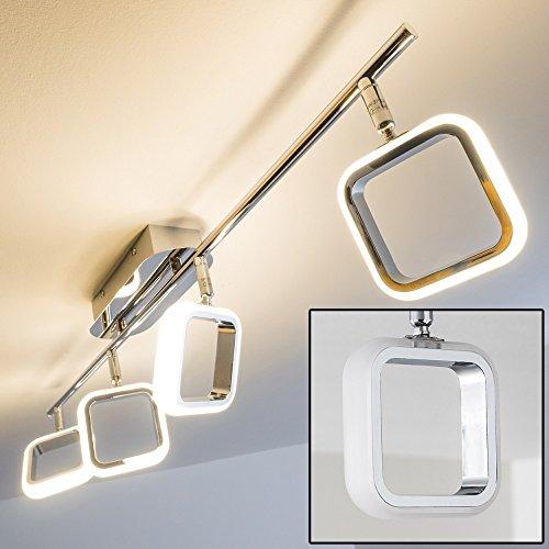 Barra con Faretti LED Myto - 4 x 5 Watt - 400 Lumen per ogni faretto - Bianco caldo [Classe energetica A]