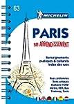 Plan de Paris par arrondissement spirale