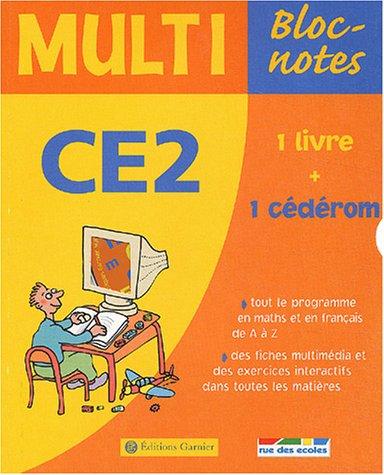 Multi Bloc-notes CE2 (1 CD-Rom inclus)