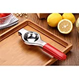 Lemon Squeezer Professional In Acciaio Inox Limone Limone Agrumi Succo d'arancia Pressa manuale Presse Limone Presse ( Colore : Rosso )
