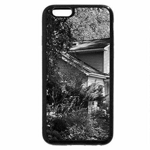 iPhone 6S Plus Case, iPhone 6 Plus Case (Black & White) - Island Cottage (Cottage Island)