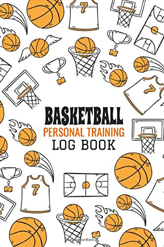 Basketball personal training log book: Basketball Personal Stat Log Book | 101 pages, 5x8 inches | Gift for Basketball Players
