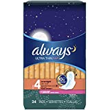 Always Ultra Thin Size Feminine Pads with Wings (Pack of 6)