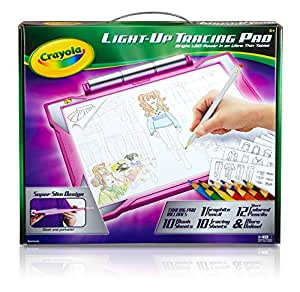 Buy Crayola Light Up Tracing Pad Pink Online At Low Prices
