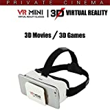 Hello Zone 3D Mini VR Glasses Virtual Reality Headsets with Ultra Polished HD