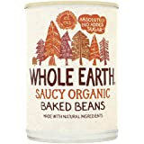 Whole Earth Foods Saucy Organic Baked Beans, 400g