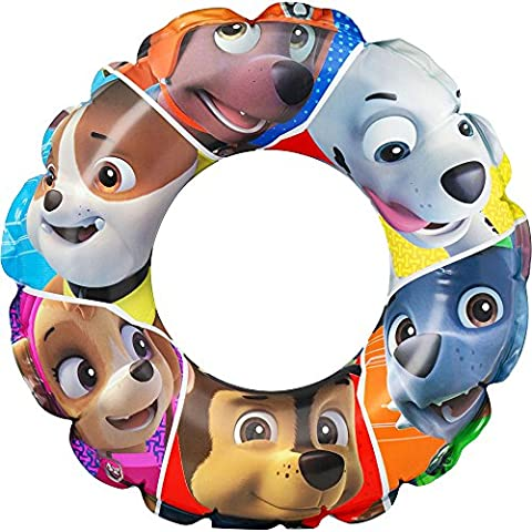 Children's PAW Patrol Character Inflatable Swimming Rubber Ring