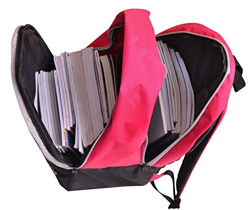 AUXTER Polyester 33 Litre Pink School Backpack Image 4