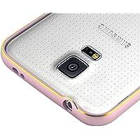 "'JAMMYLIZARD | ""Alu Bumper, CONTOUR Schutzhülle für Samsung Galaxy S5, Hellrosa"