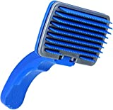 Best Dog Brush For Sheddings - Foodie Puppies Dog Plastic Slicker Brush with Press Review