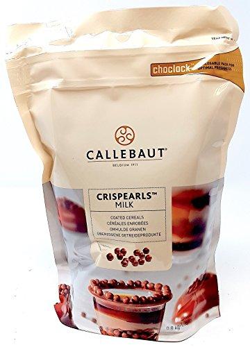 Callebaut Milchschokolade Crispearls - geröstete Biskuitperlen in Milchschokolade 800g