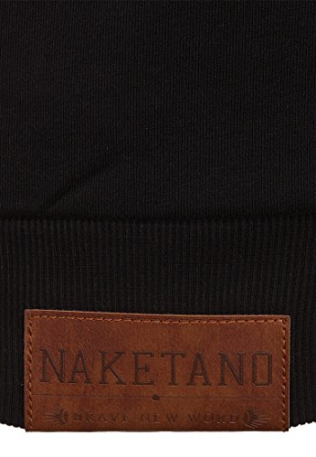 Naketano Male Hoody Tessarect V Black